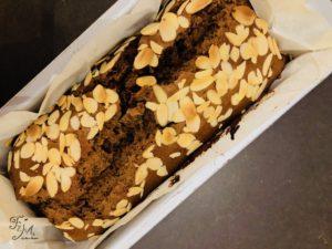 Plumcake vegano cioccolato e menta