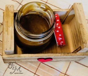 caramello salato vegano con zucchero di canna integrale