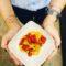 bocconcini di tonno al pepe nero e pomodorini